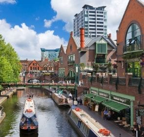 Removals Birmingham. Birmingham canals