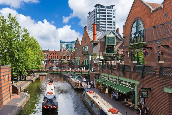 relocation to Birmingham in the uk