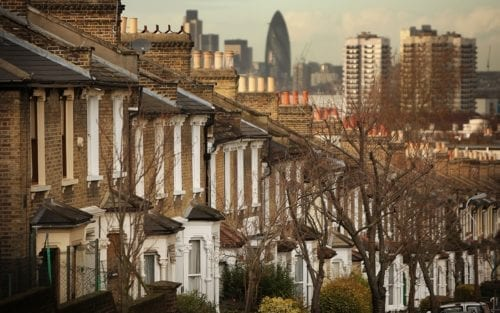 London council tax. London houses.