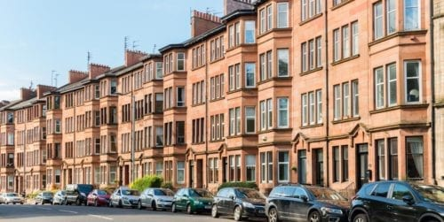 Glasgow flats council tax