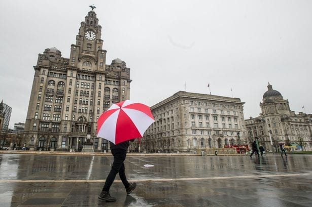 Liverpool in the rain; Removals Liverpool