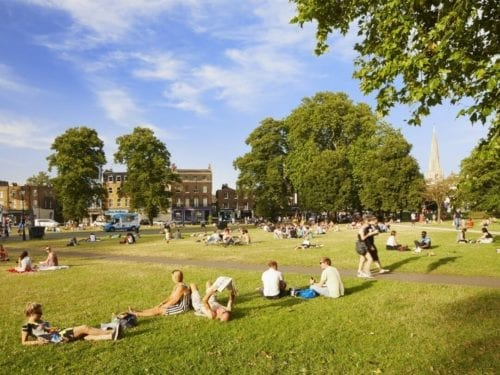 Clapham Common; house removals London