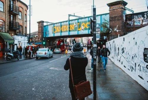 Camden Lock and Camden Market; house removals London