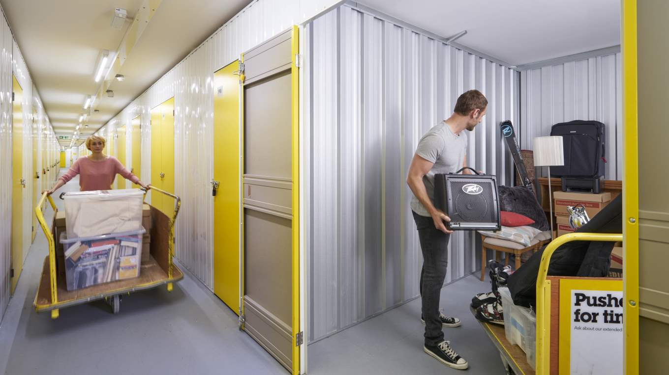 Storage Units A Space For Safely And Securely Storing