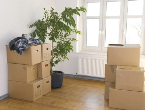 Decluttering makes moving easier